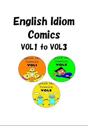 English Idiom Comics VOL1 to VOL3 (English Edition)