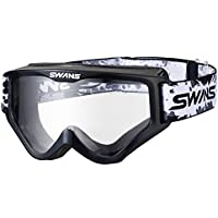 SWANS(スワンズ)ダートゴーグル フレームカラー:ブラック レンズカラー:クリア MX-797-PET