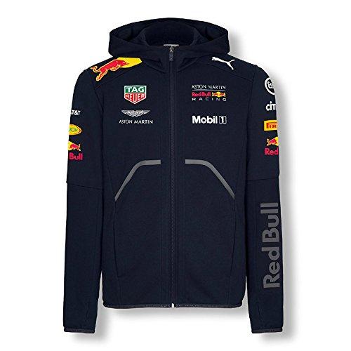 [해외]레드 불 레이싱 푸마 2018 팀 스웨터 재킷 사이즈 : L 무료 배송/Red Bull Racing Puma 2018 Team Sweat Jacket Size: L Free shipping