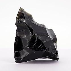 【N2 stone Natural】 黒曜石(黒曜岩   オブシディアン)の原石   天然岩石   ナチュラルストーンシリーズ