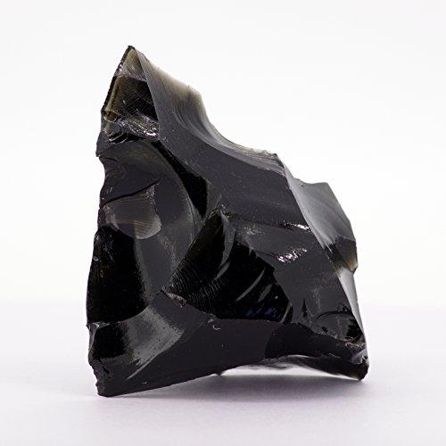 【N2 stone Natural】 黒曜石(黒曜岩/オブシディアン)の原石/天然岩石/ナチュラルストーンシリーズ