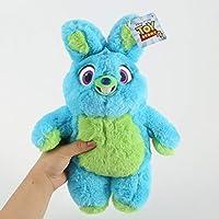 PPOO 映画トイストーリー 4 ぬいぐるみかわいい漫画のウサギのマジックアヒルアヒルソフトぬいぐるみ人形キッズ子供用