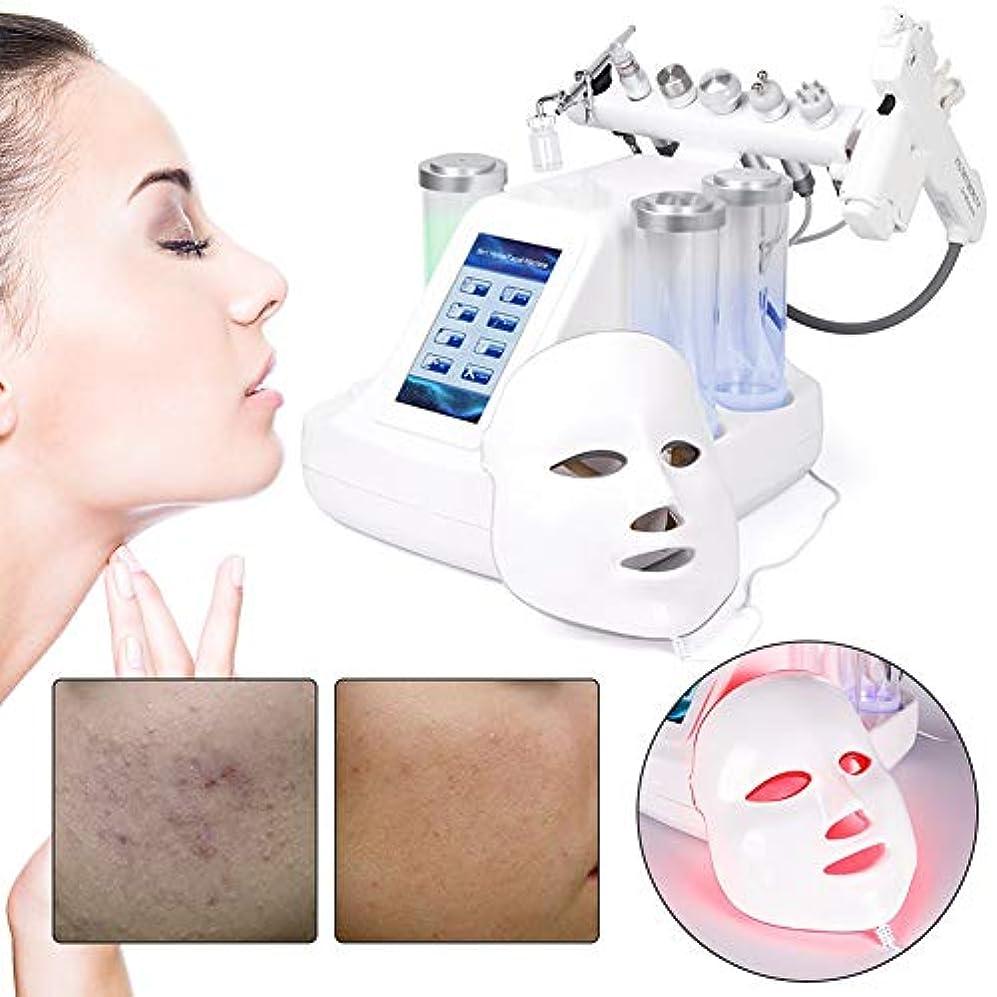 私たち強制的資格情報8つ1つの水酸素機械に付き、真空の吸引のにきびの取り外し水ハイドロ皮膚剥離の顔機械