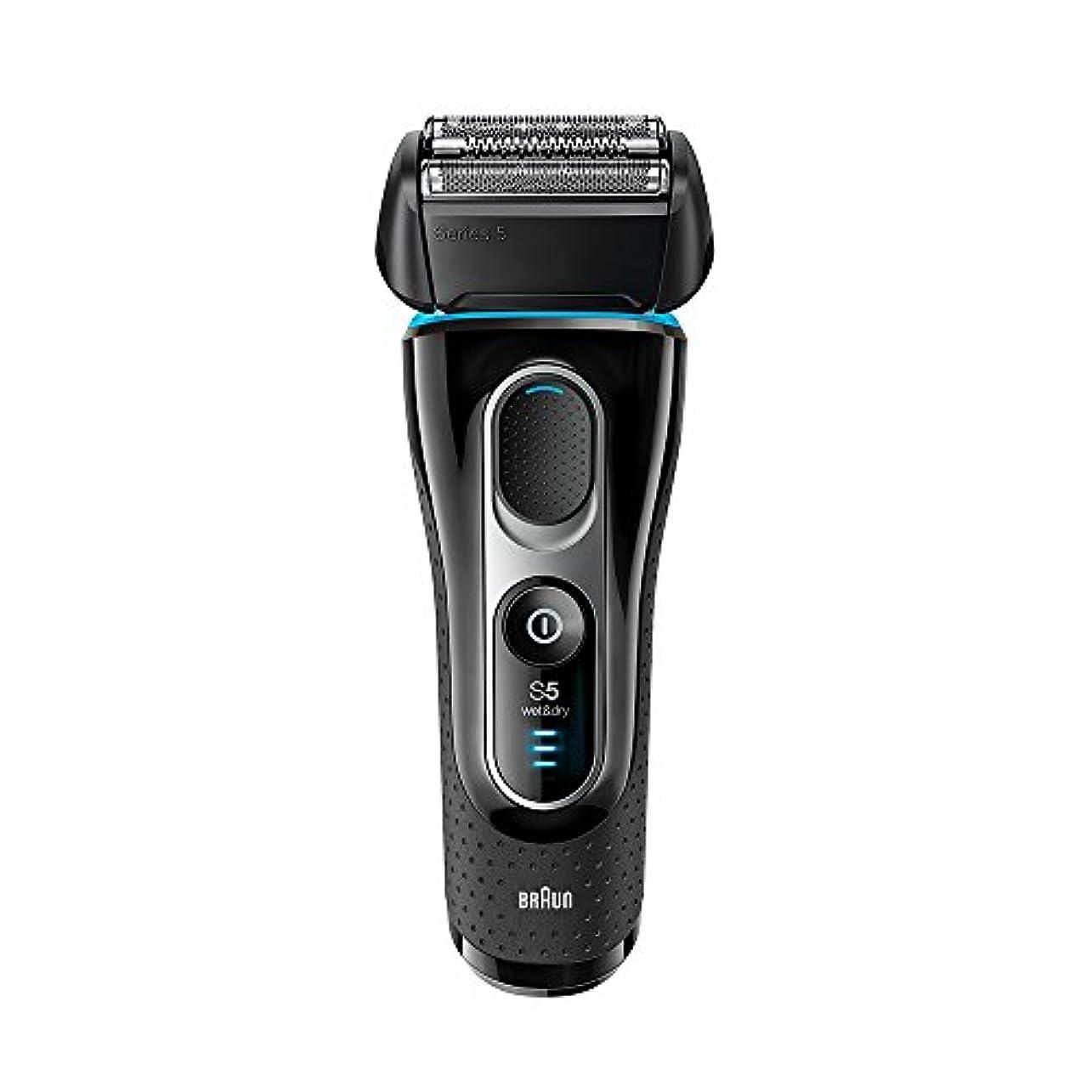 迅速エキサイティングごみブラウン シリーズ5 メンズ電気シェーバー 5147s 4カットシステム 水洗い/お風呂剃り可
