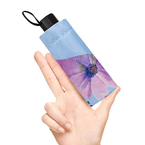 折りたたみ傘 日傘 ミニ型 超軽量 遮光率100% UVカット率99.9% UP...