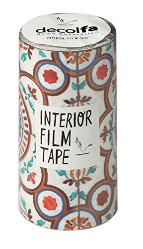RoomClip商品情報 - ニトムズ ウォールステッカー インテリア フィルムテープ 100mm タイル/イエロー M3850