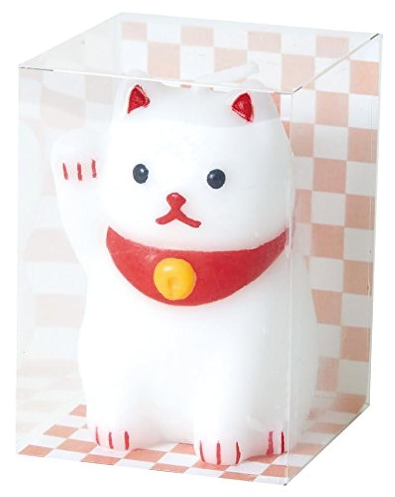 小人デコードするかるカメヤマキャンドルハウス 福びよりキャンドル 招き猫