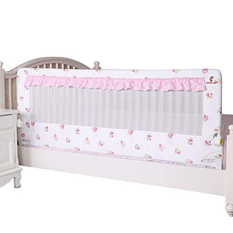 子供の折り畳み防止寝床ガードレール1.5m / 1.8m / 2.0mフェンス、ベビープレイガードベッドベゼル、3ヶ月から5歳までの使用に適しておりNayang Store