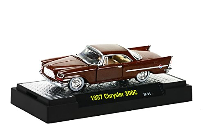 M2 MACHINES CASTLINE製【1/64スケール 1957 Chrysler 300C 】AUTO-THENTICS