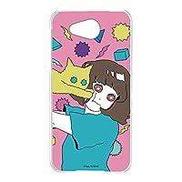 hare. 507SH Android One ケース クリア TPU プリント ねこD (hr-009) スマホケース アンドロイドワン スリム 薄型 カバー 全機種対応 WN-LC105788