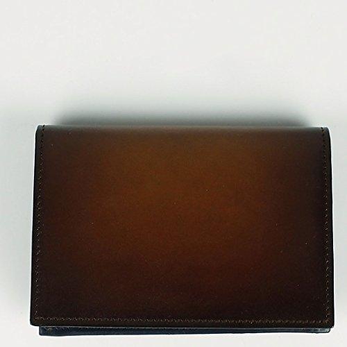 ブラウン(C30) F ARALDI 1930 アラルディ メンズ タンポナート レザー カードケース PX334 TAMPONATO FRAME TAN (ブラウン)