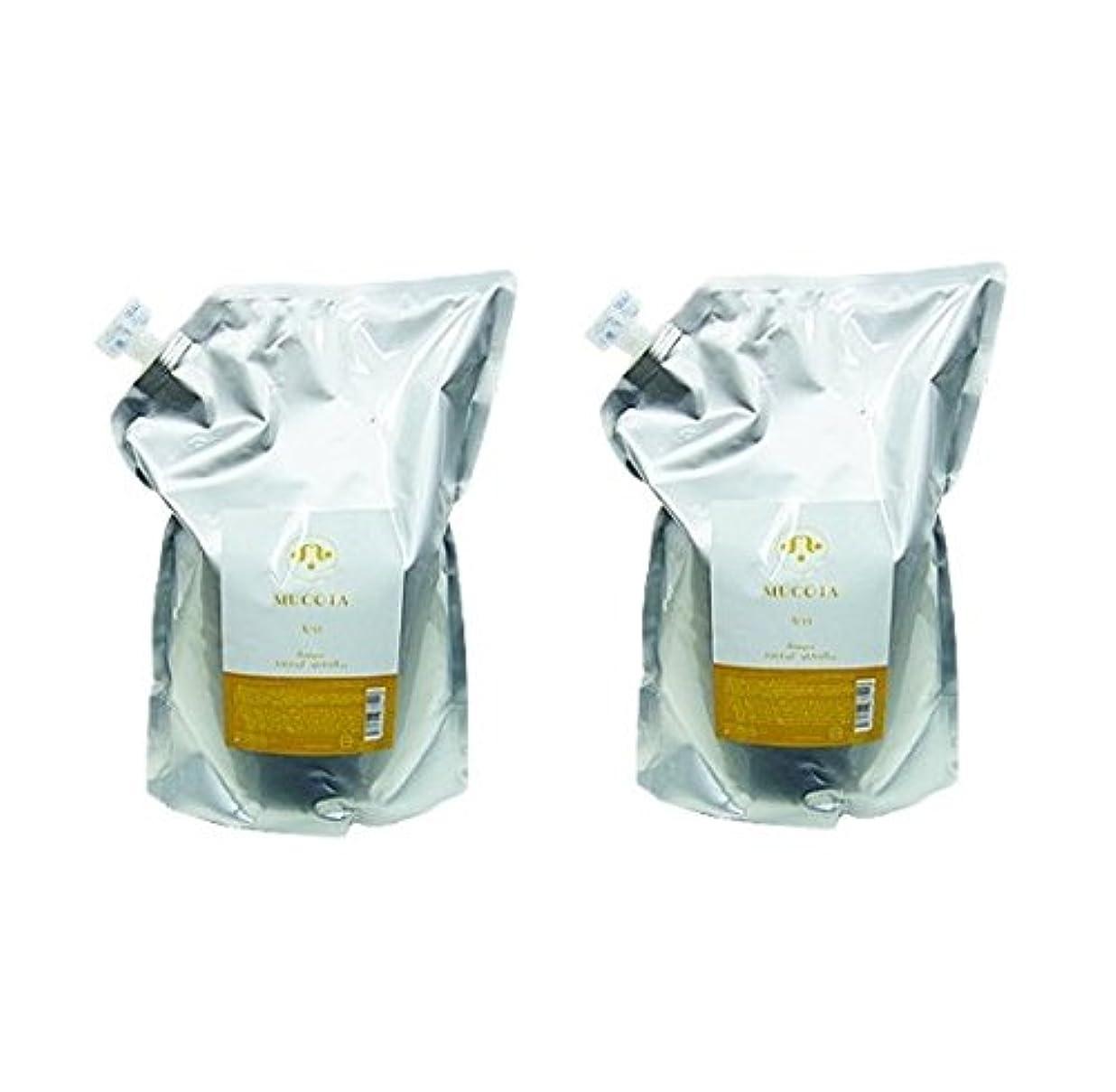 乳製品上下する選択ムコタ ホームケア シャンプー A/33 2500ml × 2個 セット 詰め替え用 業務用 日常生活で髪が受ける熱のダメージを修復しながら、美しさ維持。 MUCOTA Home Care