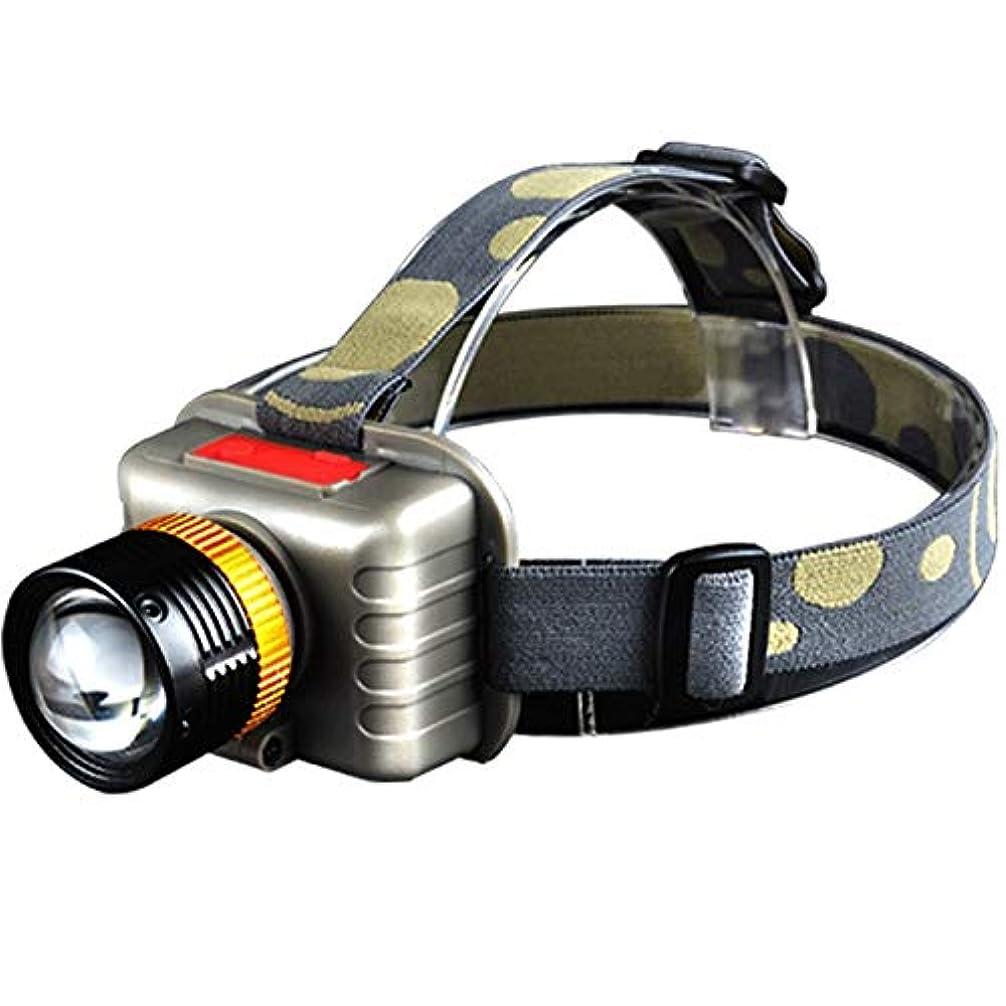 金銭的世論調査チャレンジヘッドライト ランニング、キャンプ、釣りのための屋外の長期防水LEDズームレンズの強いヘッドライト充電式スーパーブライトヘッドライト led ヘッドライト