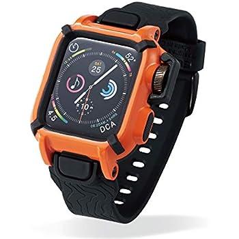 77202b5213 Amazon   エレコム Apple Watch バンドケース 40mm NESTOUT オレンジ AW ...