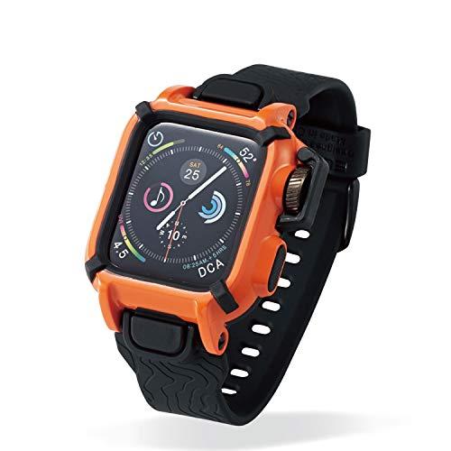 エレコム Apple Watch バンドケース 40mm NESTOUT オレンジ AW-40BCNESTDR