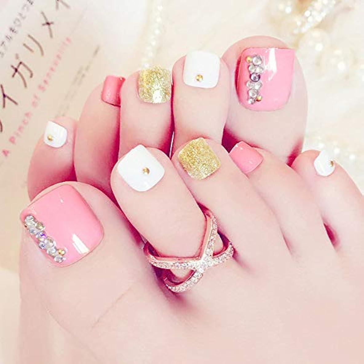 広告主モルヒネ器用XUTXZKA ネイルアートピンクの爪の爪のパッチA完成した爪の偽の爪の爪