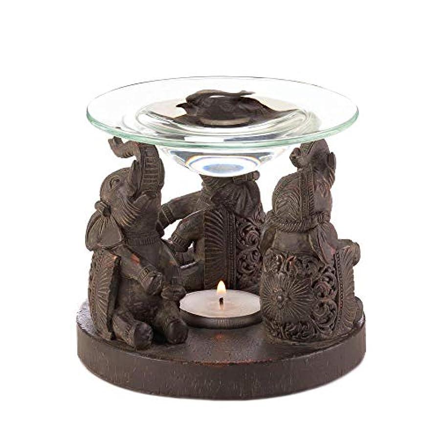 誰が政治家大いにAnya Nana ギフト 彫刻された象の像 キャンドル タルトワックスウォーマー バーナー ディフューザー アロマセラピー