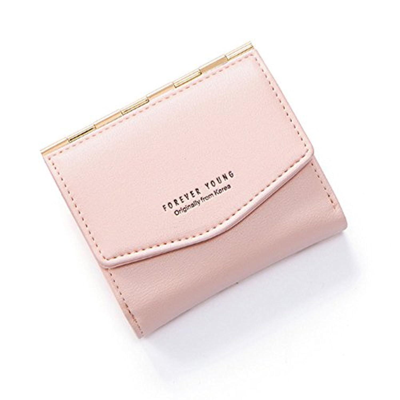 山の奥 財布 レディース 二つ折り ミニ財布 小銭入れ カード収納 本革