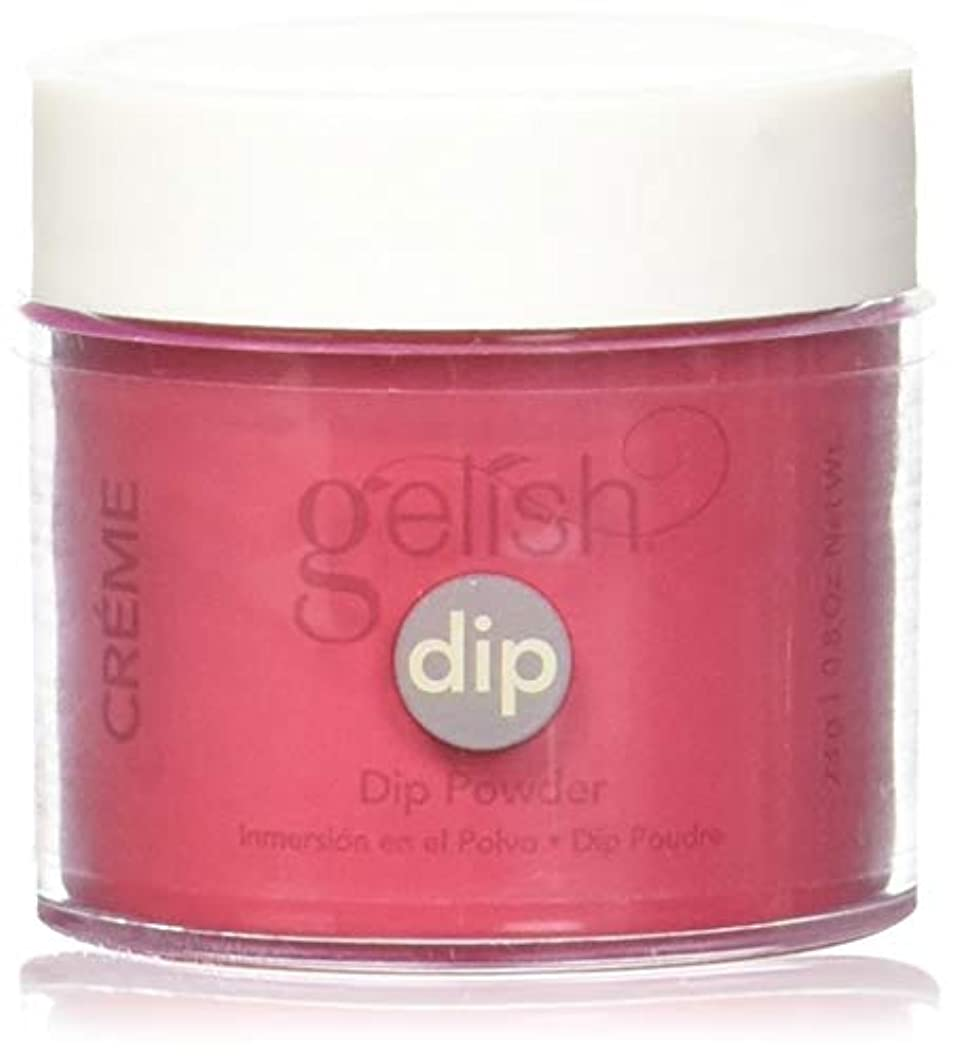 織る慣性重くするHarmony Gelish - Acrylic Dip Powder - Hot Rod Red - 23g / 0.8oz