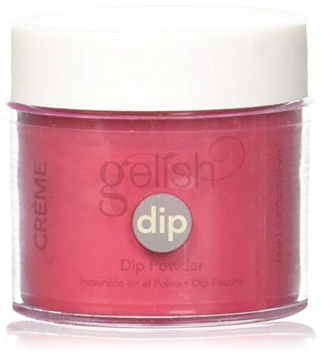 着飾る忌まわしい外向きHarmony Gelish - Acrylic Dip Powder - Hot Rod Red - 23g / 0.8oz