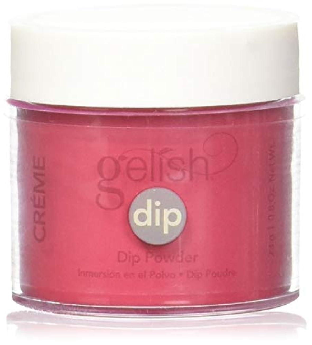 セットするはさみ正当化するHarmony Gelish - Acrylic Dip Powder - Hot Rod Red - 23g / 0.8oz