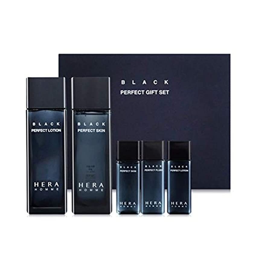 伝記ポルノスモッグヘラオムブラックパーフェクトスキンローションセットメンズコスメ韓国コスメ、Hera Homme Black Perfect Skin Lotion Set Men's Cosmetics Korean Cosmetics...