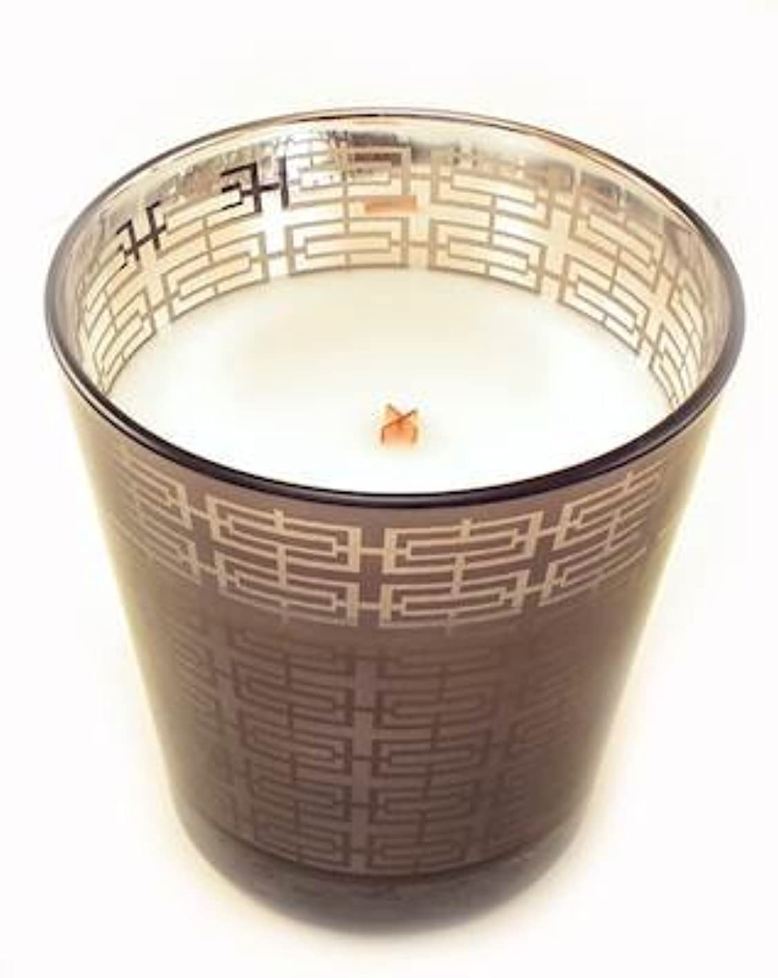 Sand DriftメタリックタンブラーWoodWick Scented Candle