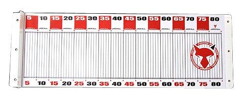 JACKALL(ジャッカル) メジャー ワイドメジャー タイプ1 横:80cm/縦:30cm レッド
