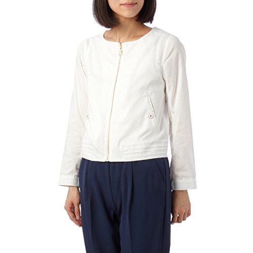 (ミニマム)MINIMUM ノーカラージップアップジャケット ホワイト(001) 02(M)