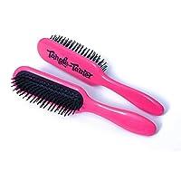 デンマン90は、ブラシ、子供をもつれ解除調教師髪をもつれ x2 - Denman D90S Tangle Tamer Hair Detangling Brush, Kids (Pack of 2) [並行輸入品]