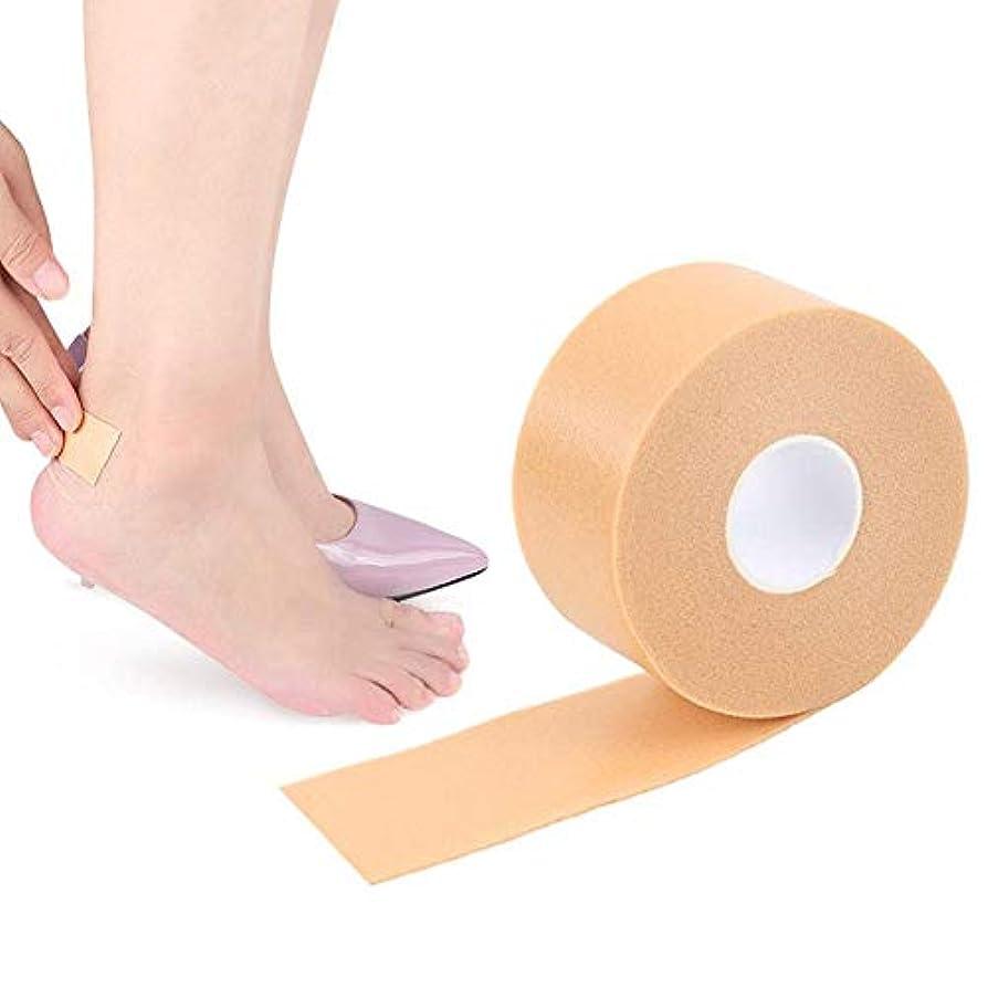 お勧め不機嫌レクリエーション1ロール フットヒールステッカー PEフォームフットステッカー フットヒールテープ フットヒールパッチ 防水 靴擦れ防止 痛み軽減 踵保護 通気性 耐摩耗性 貼るだけ簡単 男女兼用
