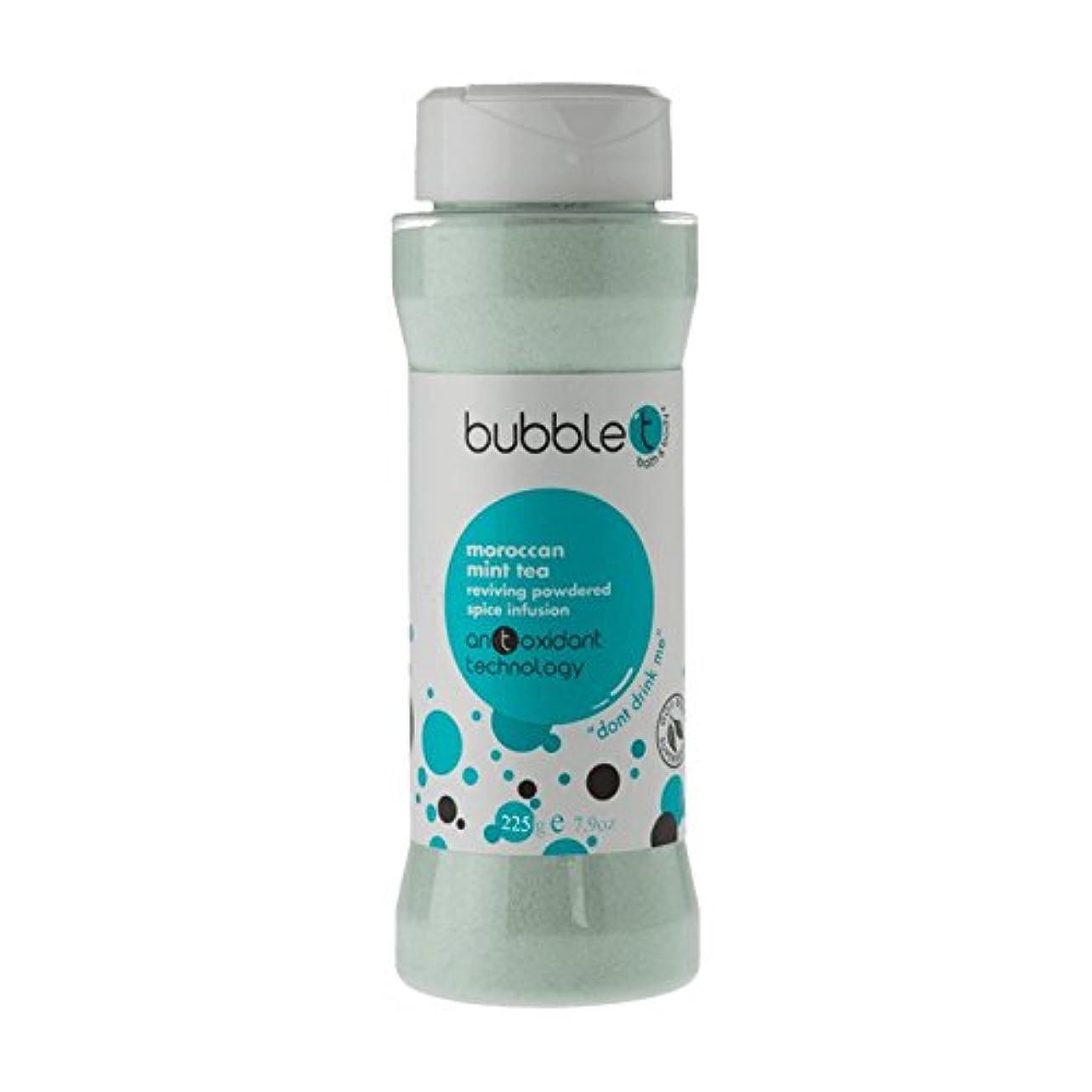 酸化物抗議強大なバブルトン風呂スパイス注入モロッコのミントティー225グラム - Bubble T Bath Spice Infusion Morrocan Mint Tea 225g (Bubble T) [並行輸入品]