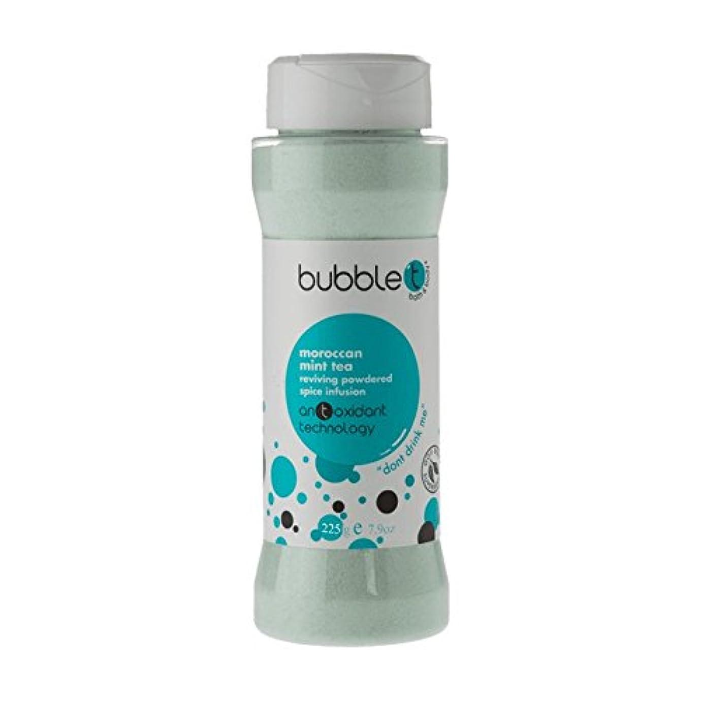 遺伝的バーマド落ち着いたBubble T Bath Spice Infusion Morrocan Mint Tea 225g (Pack of 2) - バブルトン風呂スパイス注入モロッコのミントティー225グラム (x2) [並行輸入品]