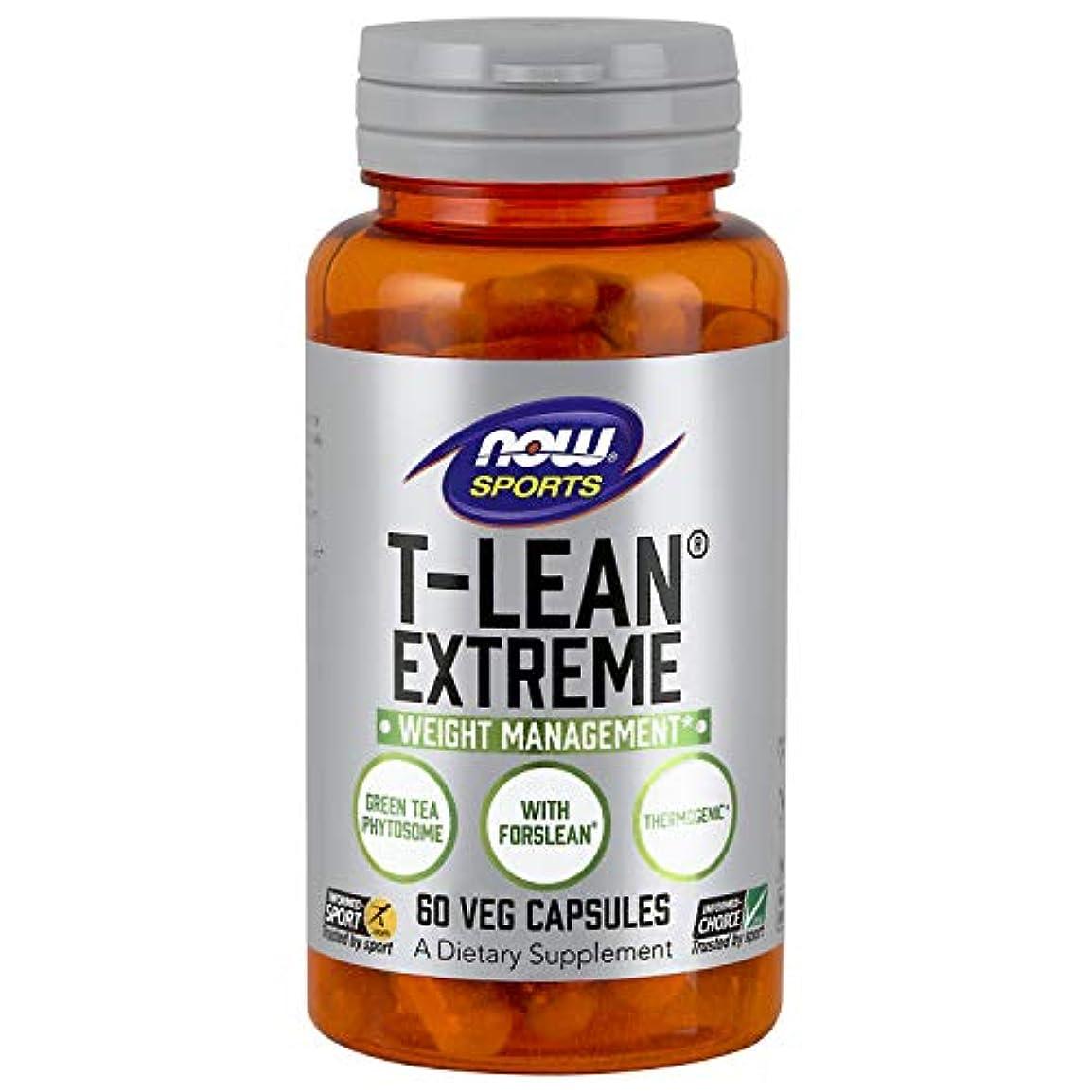 効率的メールを書く蒸発海外直送品 Now Foods T-Lean Extreme, 60 vcaps