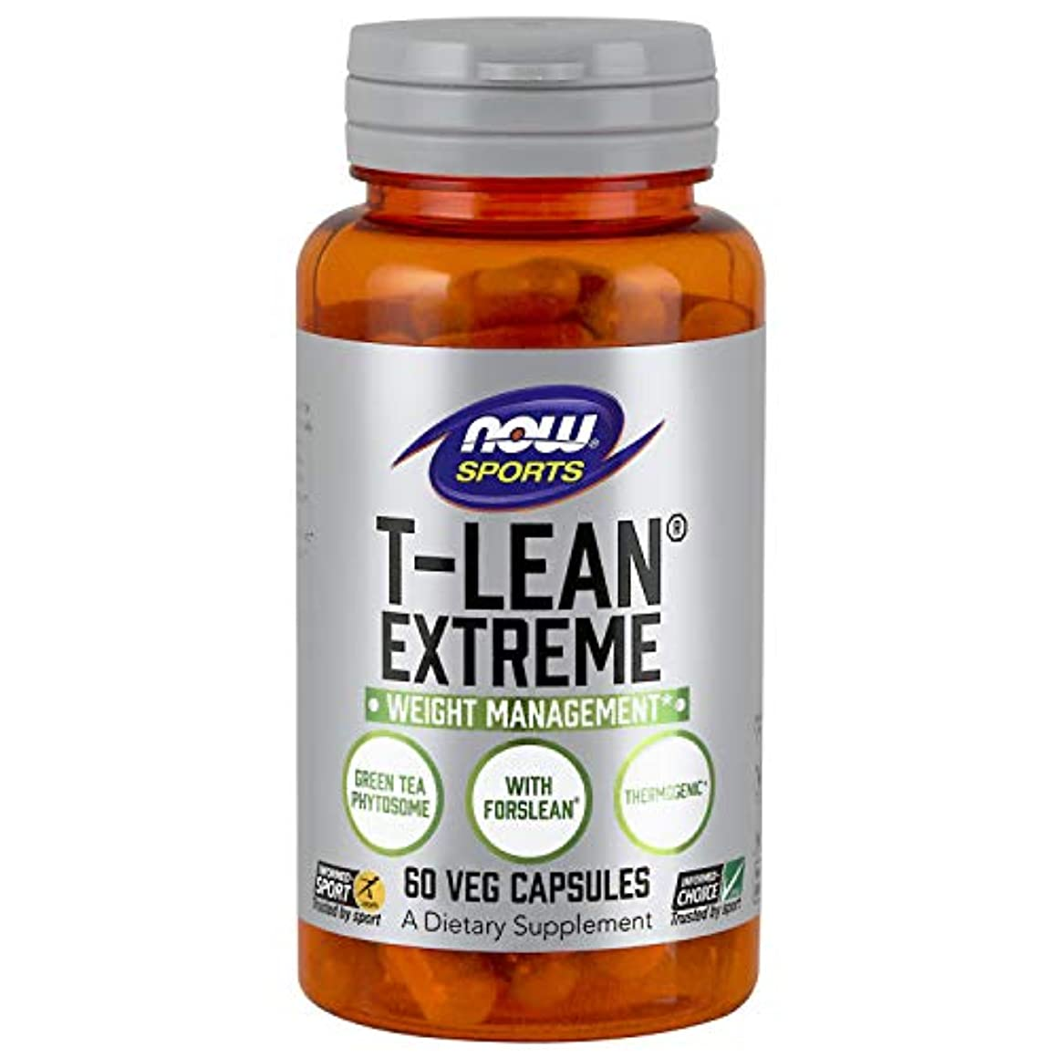 ばかげている受粉者市の花海外直送品 Now Foods T-Lean Extreme, 60 vcaps
