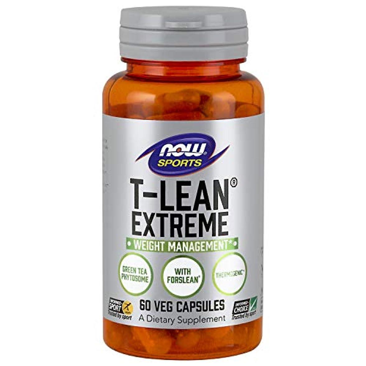 微生物反響する訪問海外直送品 Now Foods T-Lean Extreme, 60 vcaps