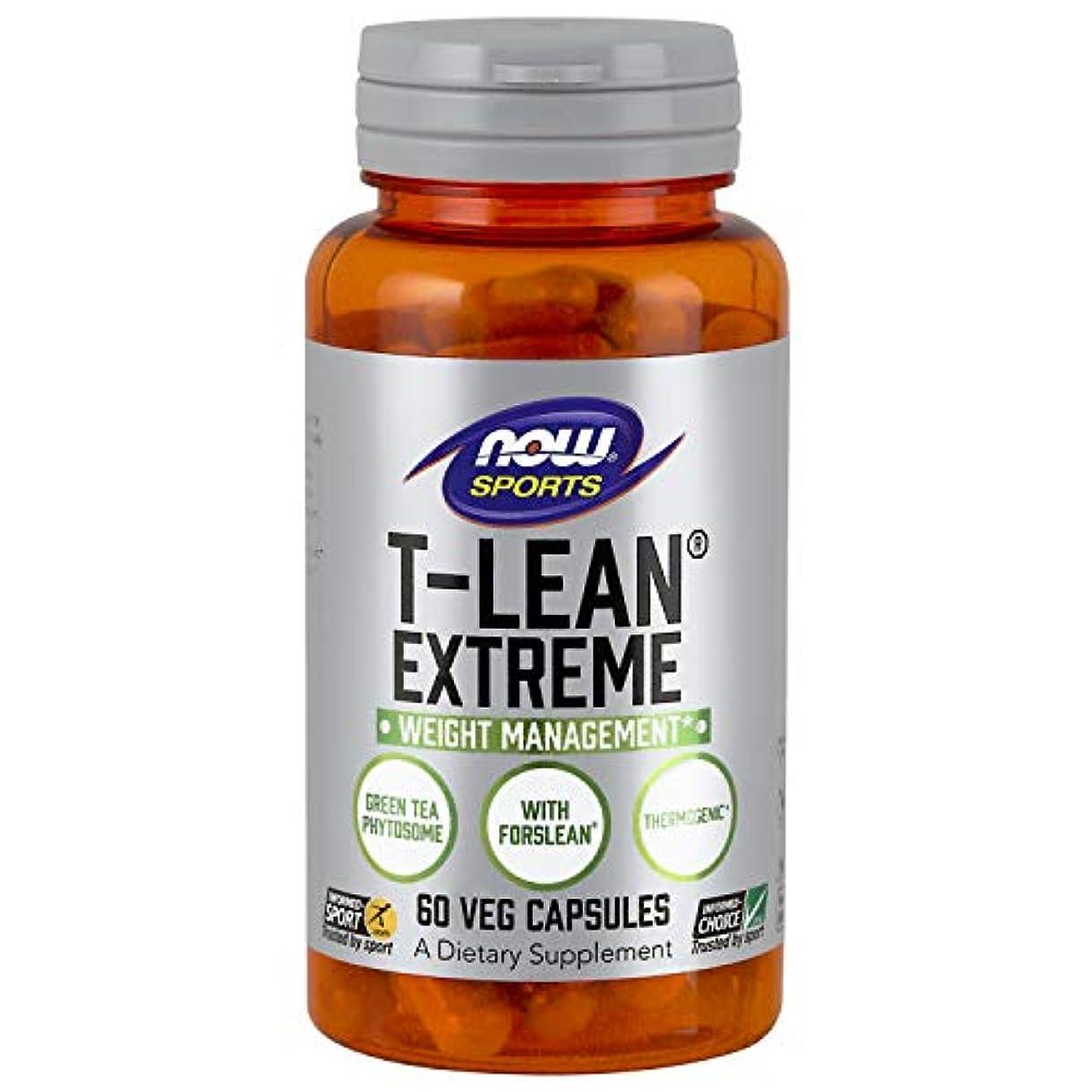 将来の犯人側海外直送品 Now Foods T-Lean Extreme, 60 vcaps