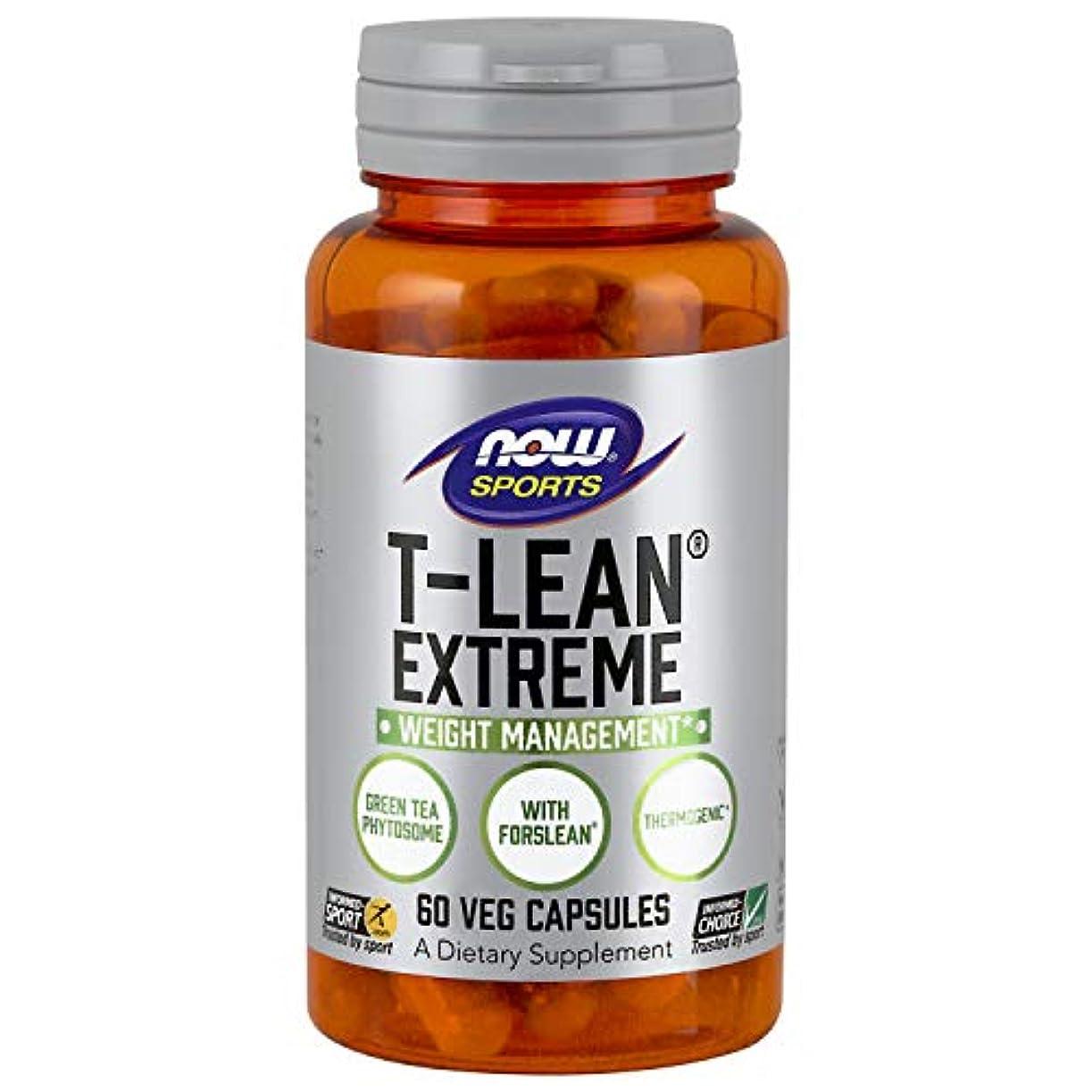 オーバーヘッドもしぼんやりした海外直送品 Now Foods T-Lean Extreme, 60 vcaps