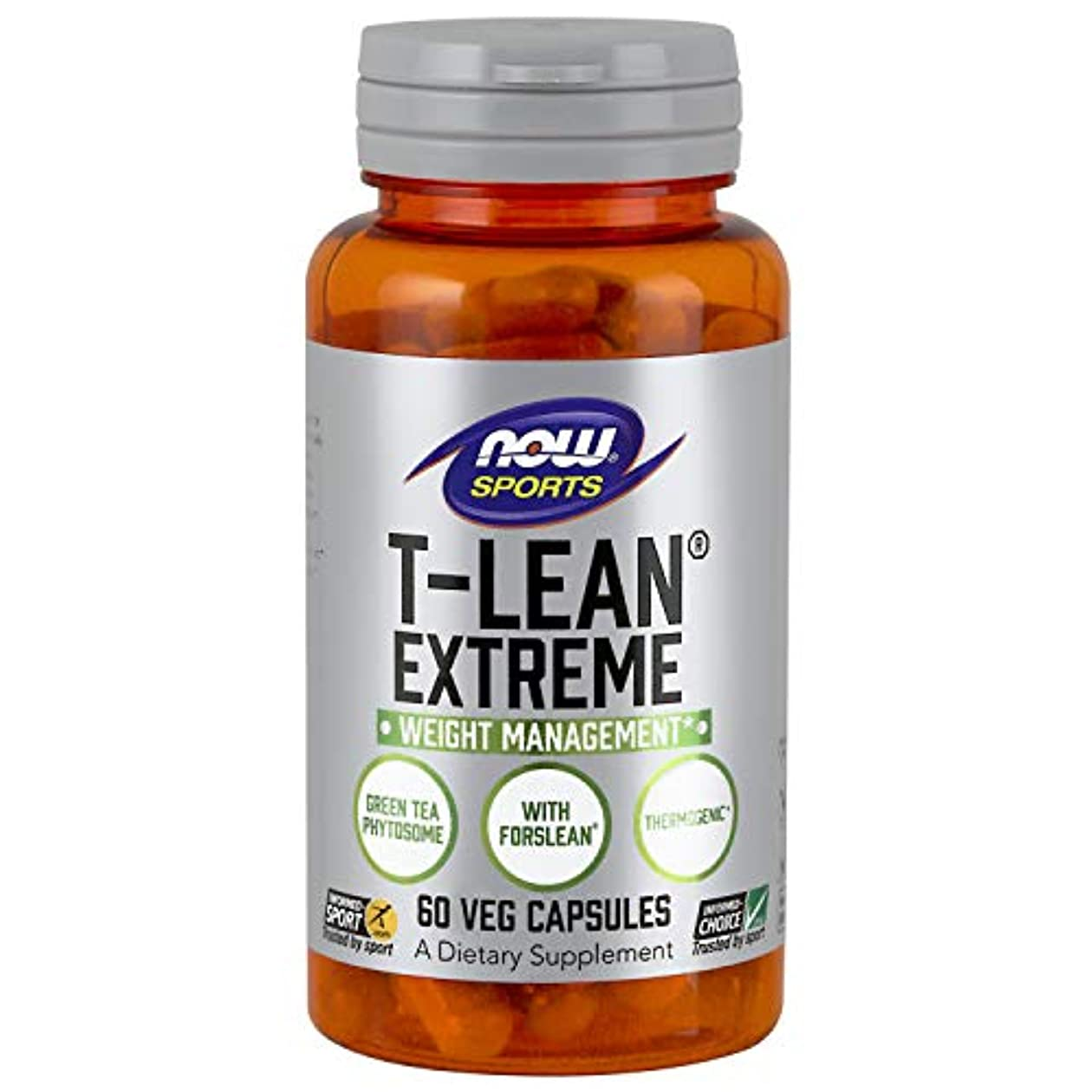 海外直送品 Now Foods T-Lean Extreme, 60 vcaps
