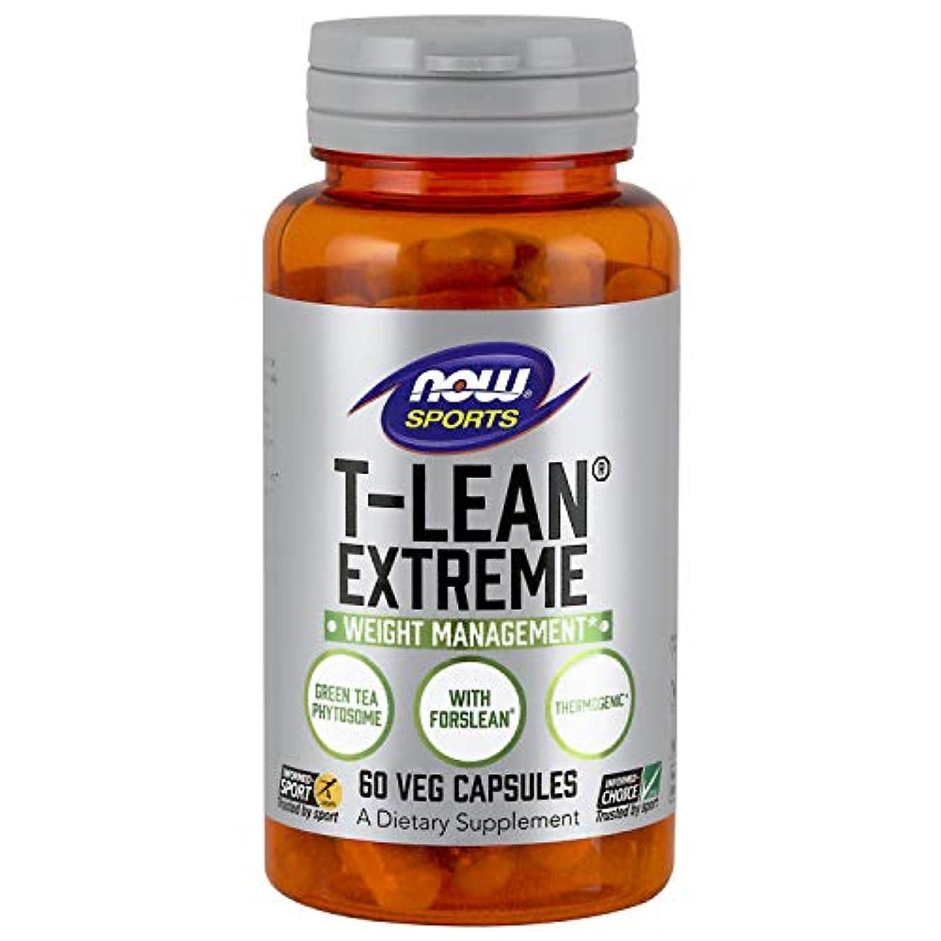 ミネラル運営アクセサリー海外直送品 Now Foods T-Lean Extreme, 60 vcaps
