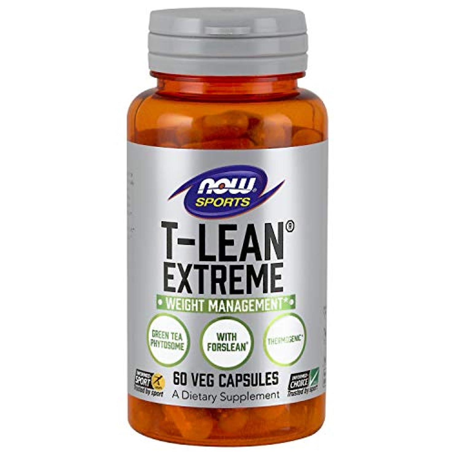 同情カウンタシーケンス海外直送品 Now Foods T-Lean Extreme, 60 vcaps