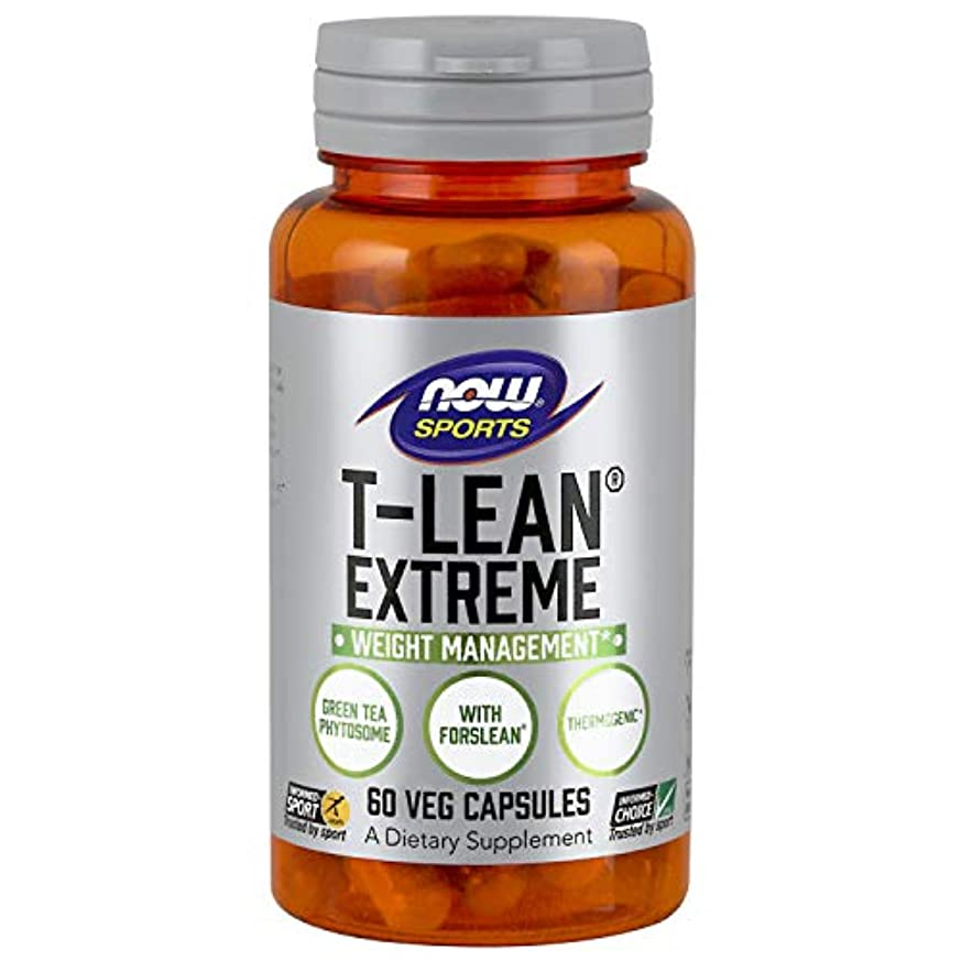 軍パンダ海外直送品 Now Foods T-Lean Extreme, 60 vcaps