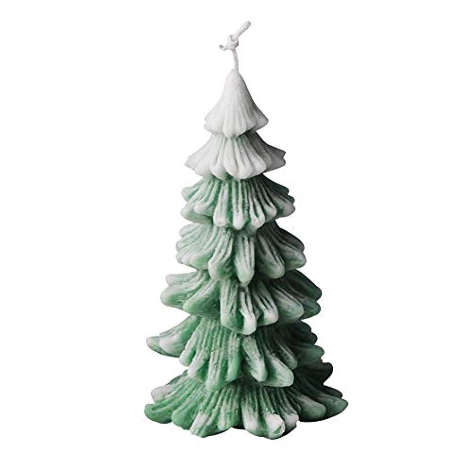 無心八百屋ベールクリスマスキャンドル金型、松クリスマスの装飾の香りのキャンドルを香り
