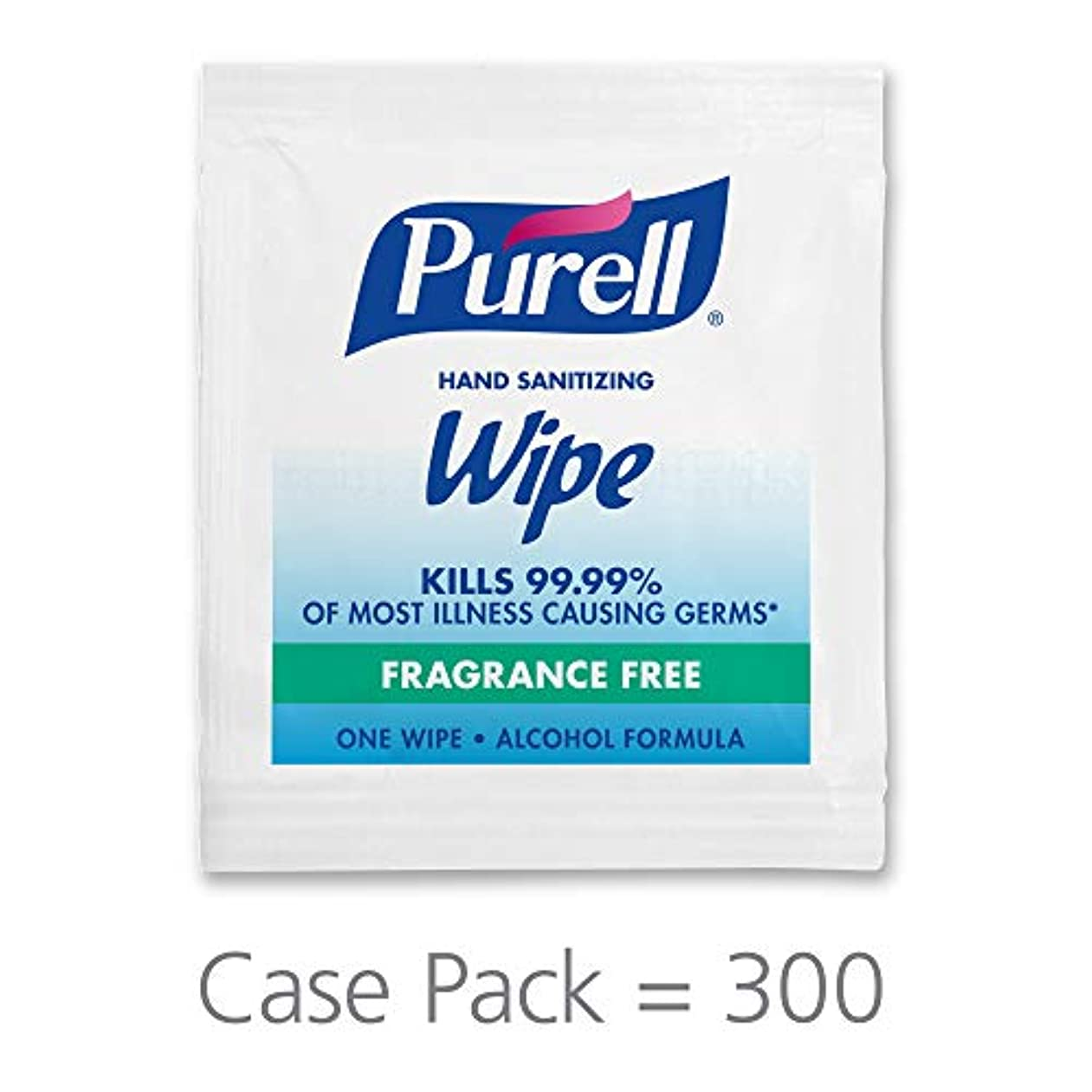 やりすぎ苗皿手の消毒用アルコールWipesポータブル個別包装Wipes (パックFo 300 )