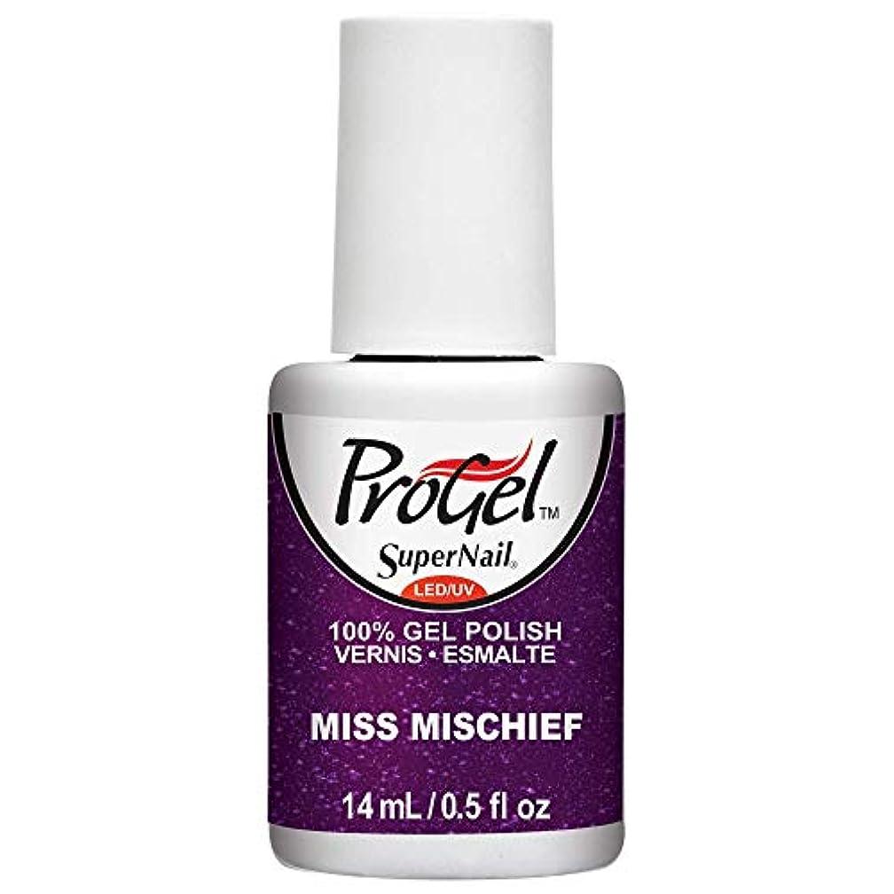 メンダシティ祈る無駄にSuperNail ProGel Gel Polish - Miss Mischief - 0.5oz / 14ml