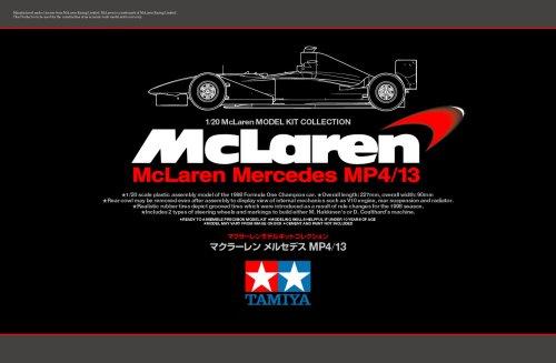 スケール限定 1/20 マクラーレン メルセデス MP4/13 89718