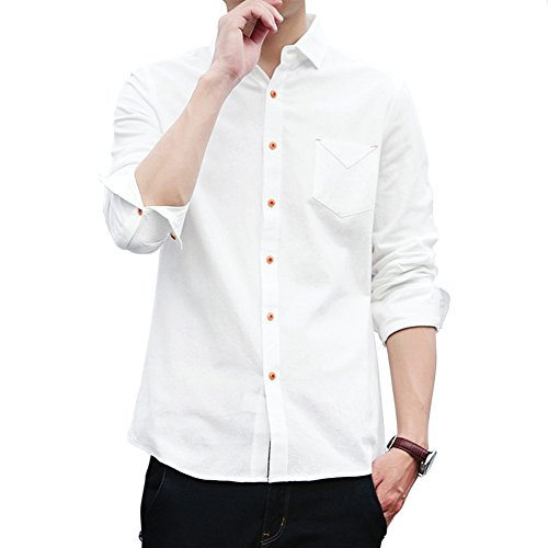 サンデーローズ カジュアルシャツ メンズ 長袖