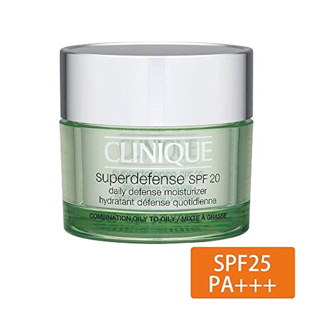 証拠場所咳クリニーク(Clinique) SP ディフェンス モイスチャライザー 25 (CO/O スキンタイプ3?4) <ビッグサイズ> 50ml [並行輸入品]