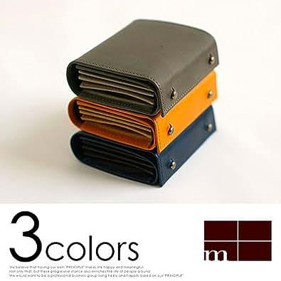 (エムピウ)m+ 二つ折り財布 millefoglie P30 ミッレフォッリエ2 P30 blue