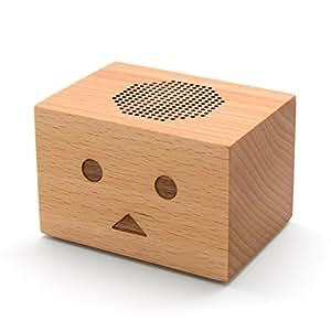 木製 Bluetooth スピーカー cheero Danboard Wireless Speaker 【 2台でステレオ再生 (TWS)/マイク内蔵/AUX/木の色・柄に個体差有/連続再生約7時間/ブルートゥース Ver.4.2/お手元テレビスピーカー にも! 】 CHE-617